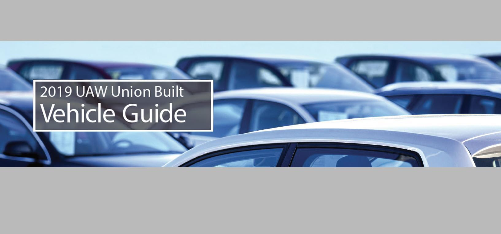 Vehicle Guide 2019